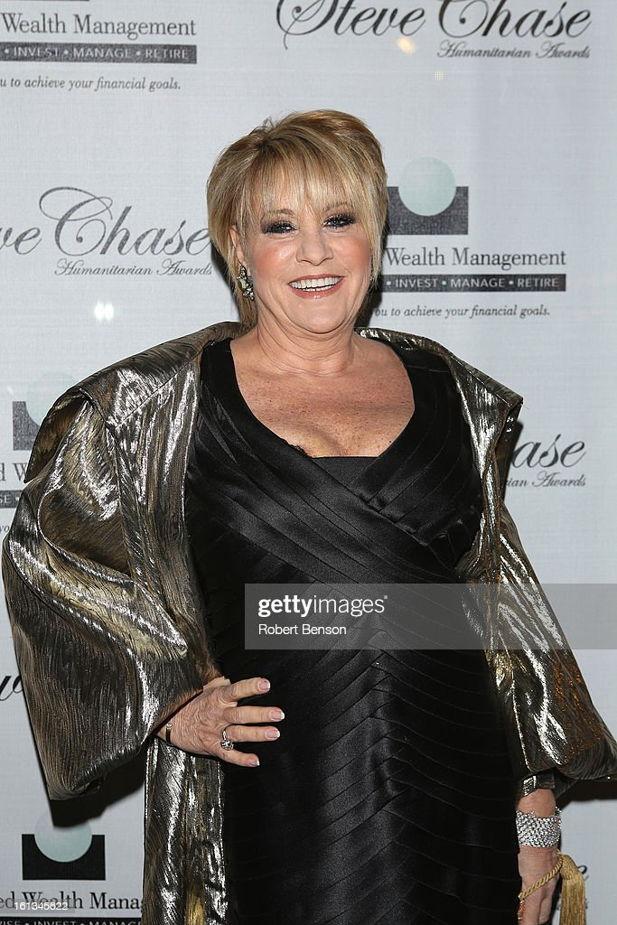 <a gi-track='captionPersonalityLinkClicked' href=/galleries/search?phrase=Lorna+Luft&family=editorial&specificpeople=207197 ng-click='$event.stopPropagation()'>Lorna Luft</a> arrives at the 19th Annual Steve Chase Humanitarian Awards Gala at the Palm Springs Convention Center on February 9, 2013 in Palm Springs, California.