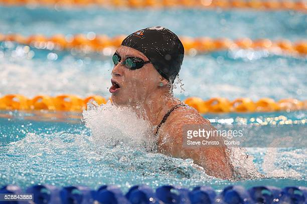 Lorna Tonks competes in the Women's 50m Breaststroke final during the Hancock Prospecting Australian Swimming Championships at the Sydney Aquatic...