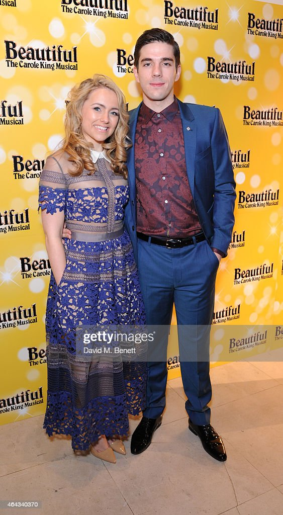 Lorna Want and Ian McIntosh attends an after party following the press night performance of 'Beautiful: The Carole King Musical', playing at the Aldwych Theatre, at the Somerset House on February 24, 2015 in London, England.