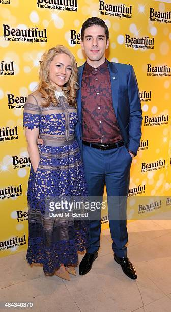 Lorna Want and Ian McIntosh attends an after party following the press night performance of 'Beautiful The Carole King Musical' playing at the...