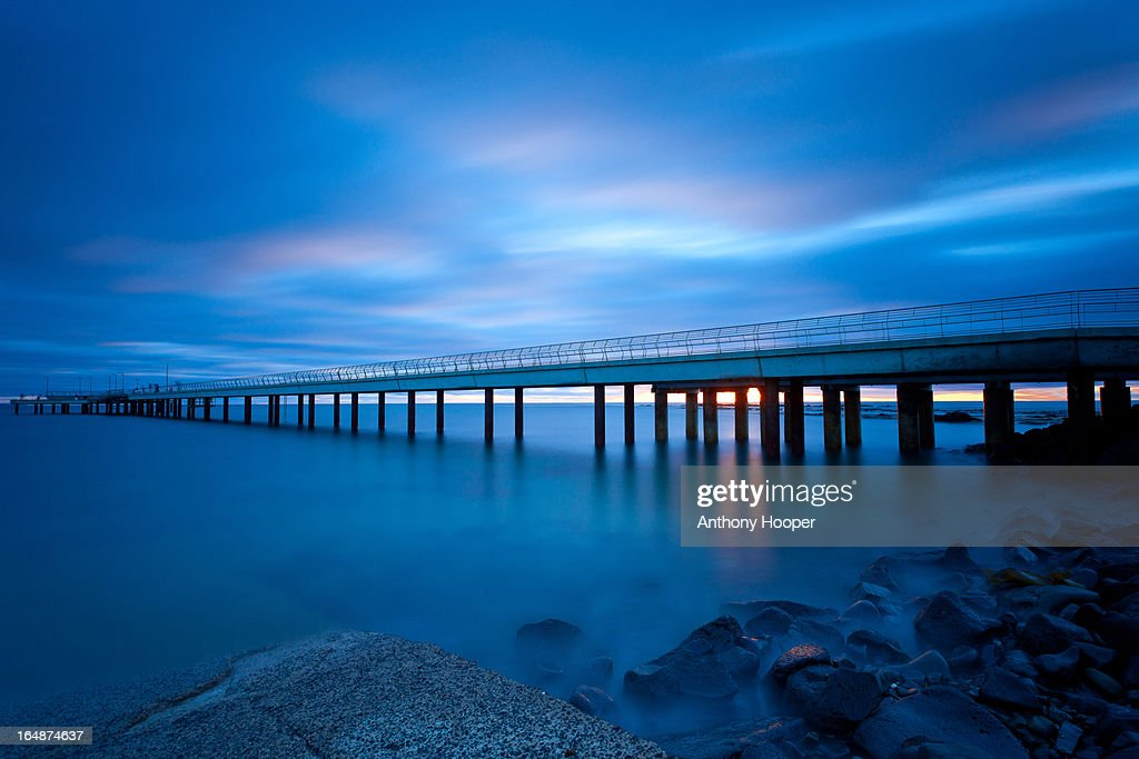 Lorne Pier at Dawn