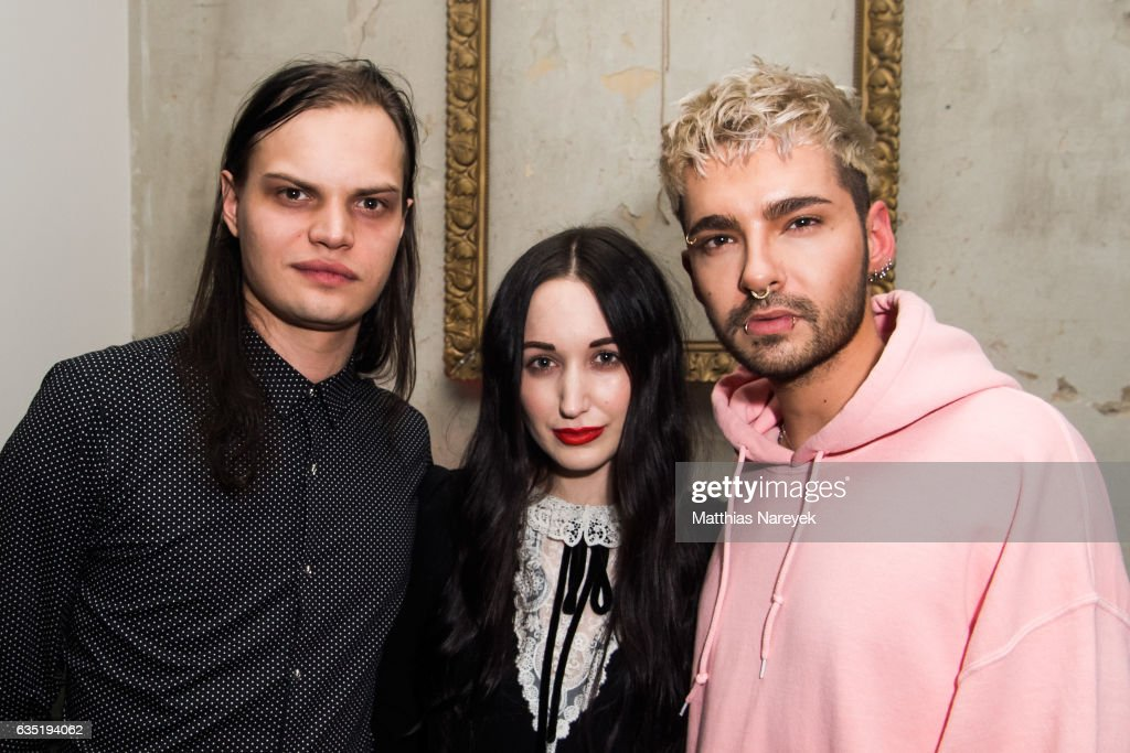 Lorraine Bedros, Bill Kaulitz and Wilson Gonzalez Ochsenknecht attend the Pantaflix Party during the 67th Berlinale International Film Festival Berlin at the Grand on February 13, 2017 in Berlin, Germany.
