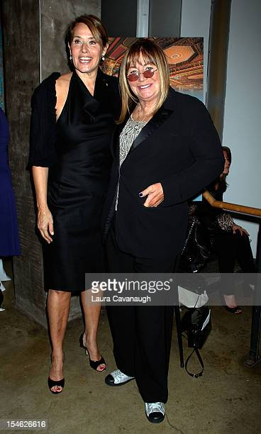 Lorraine Bracco and Penny Marshall attend 5th Annual Journey Of Hope Benefit Gala at Prince George Ballroom on October 23 2012 in New York City