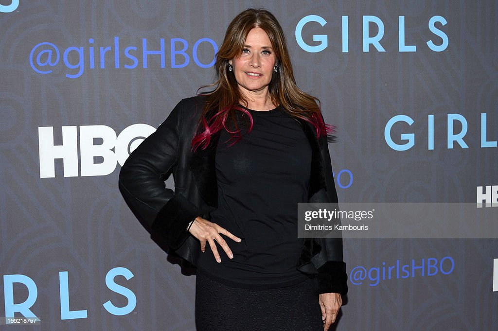 <a gi-track='captionPersonalityLinkClicked' href=/galleries/search?phrase=Lorraine+Bracco&family=editorial&specificpeople=202545 ng-click='$event.stopPropagation()'>Lorraine Bracco</a> attends the HBO premiere of 'Girls' Season 2 at the NYU Skirball Center on January 9, 2013 in New York City.