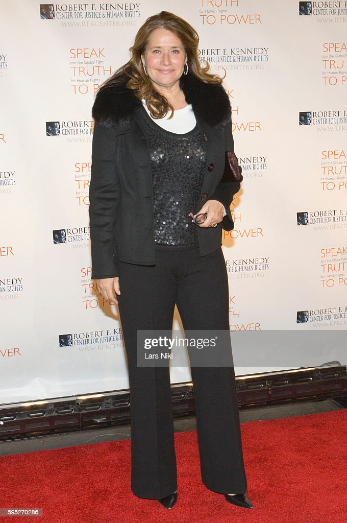 Lorraine Bracco attends the 'Robert F Kennedy Center For Justice Human Rights Bridge Dedication Gala' at Pier 60 in New York City