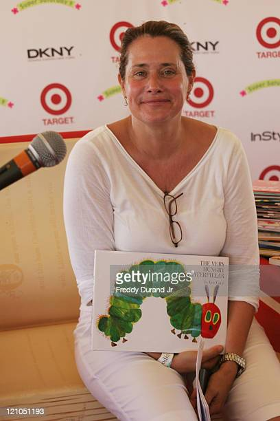 Lorraine Bracco during InStyle Magazine Present Super Saturday 9 at Nova's Art Project in Water Mill NY United States