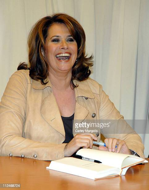 Lorraine Bracco during Lorraine Bracco Signs Her New Book 'On The Couch' June 6 2006 at Barnes and Noble in New York City New York United States