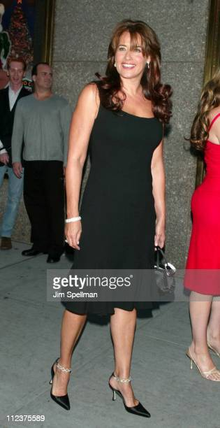 Lorraine Bracco during 'The Sopranos' 4th Season Premiere at Radio City Music Hall in New York City New York United States