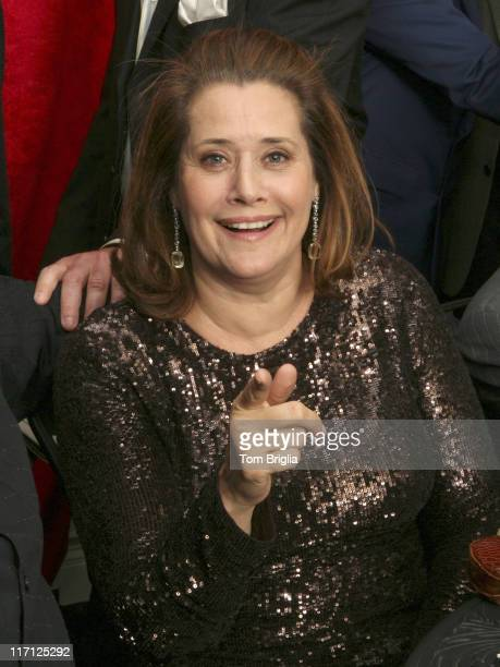 Lorraine Bracco during The Sopranos Cast Press Conference and Photocall at Atlantic City Hilton March 25 2006 at Atlantic City Hilton in Atlantic...
