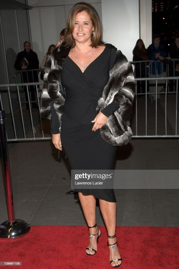 Lorraine Bracco during The Sopranos Sixth Season New York City Premiere - Outside Arrivals at Museum of Modern Art in New York City, New York, United States.