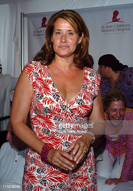 Lorraine Bracco during Tony Sirico and 'The Sopranos' Celebrate St Jude Children's Research Hospital July 30 2005 at Private Residence in Upper...