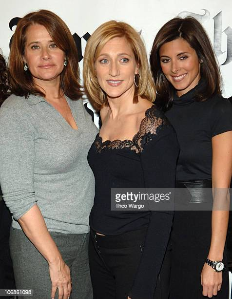 Lorraine Bracco Edie Falco and JamieLynn Sigler during 5th Annual New York Times Arts Leisure Weekend January 7 2006 at CUNY Graduate Center in New...