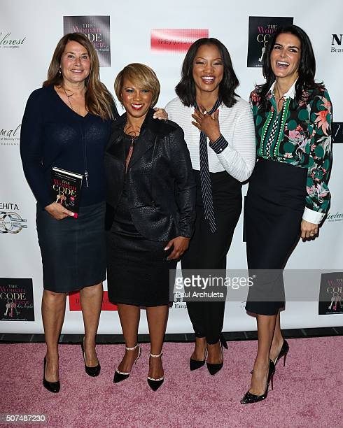 Lorraine Bracco Sophia A Nelson Garcelle Beauvais and Angie Harmon attends the 'The Woman Code' event at City Club Los Angeles on January 29 2016 in...