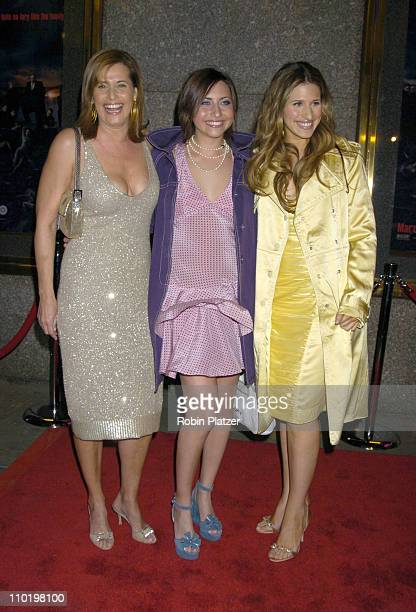 Lorraine Bracco with daughters Margaux Guerard and Stella Keitel