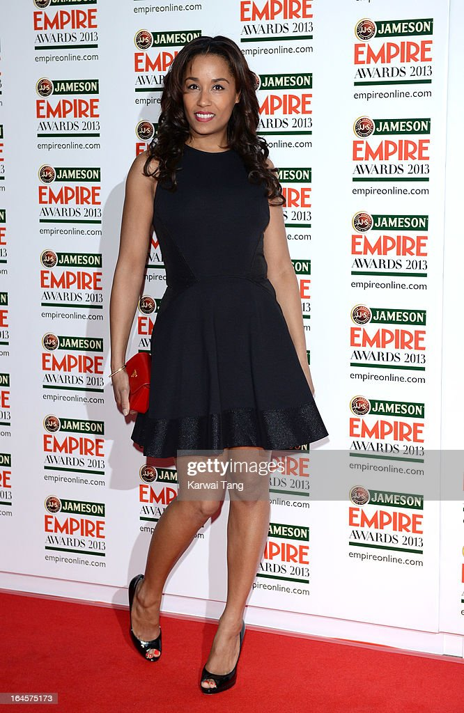 Lorraine Burroughs attends the 18th Jameson Empire Film Awards at Grosvenor House, on March 24, 2013 in London, England.