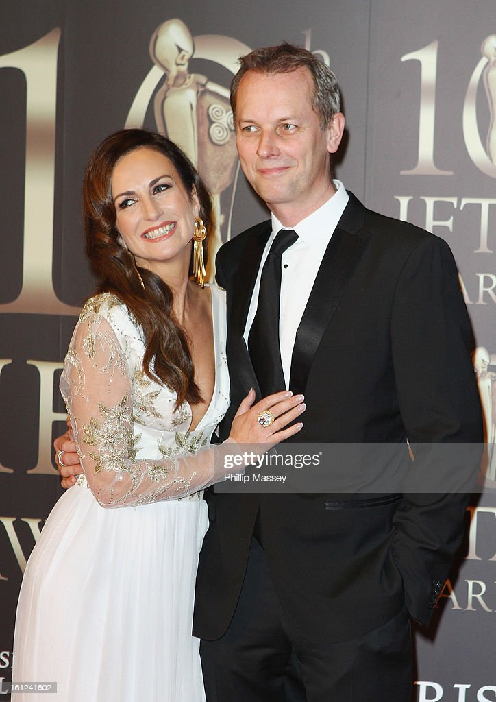 Lorraine Keane and Peter Devlin attend the Irish Film and Television Awards at the Convention Centre Dublin on February 9, 2013 in Dublin, Ireland.