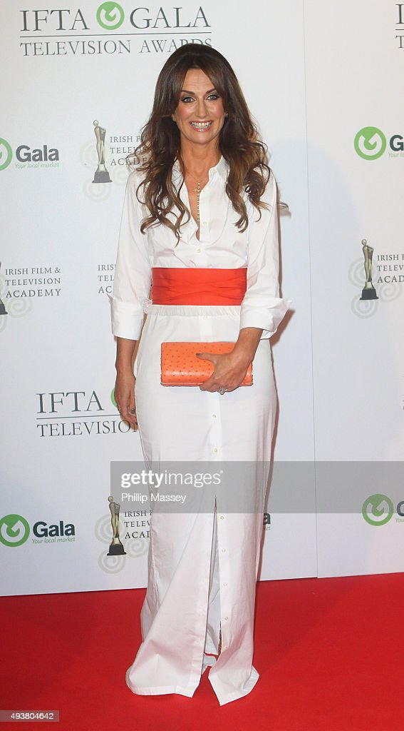 Lorraine Keane attends the IFTA Gala Television Awards on October 22, 2015 in Dublin, Ireland.