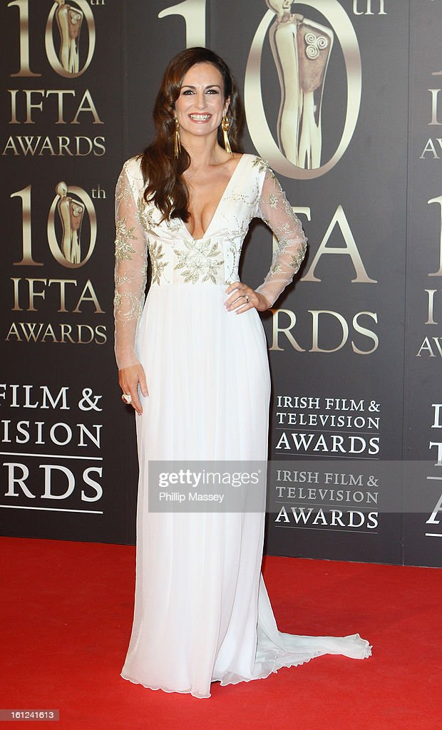 Lorraine Keane attends the Irish Film and Television Awards at the Convention Centre Dublin on February 9, 2013 in Dublin, Ireland.