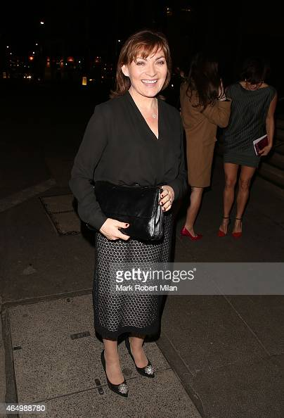 Lorraine Kelly attending The Sun Bizarre Party at Steam and Rye on March 2 2015 in London England