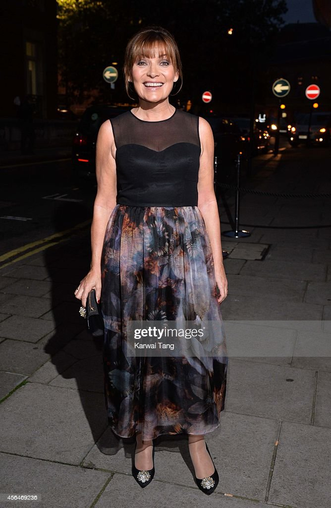 Lorraine Kelly attends a celebration of Lorraine Kelly's 30 years in breakfast television at Langham Hotel on October 1 2014 in London England