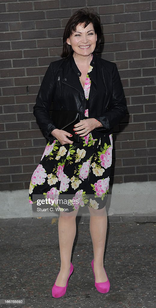 Lorraine Kelly attends as Chickenshed perform a caberet showcase at The London Television Centre on April 16, 2013 in London, England.
