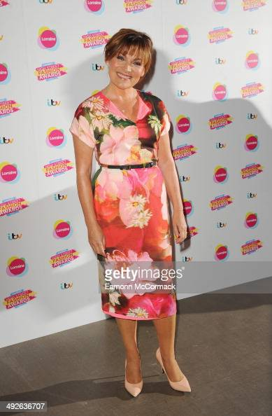 Lorraine Kelly attends Lorraine's High Street Fashion Awards on May 21 2014 in London England