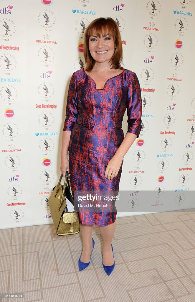 Lorraine Kelly attends The 59th Women of the Year Lunch at the InterContinental Park Lane Hotel on October 13 2014 in London England