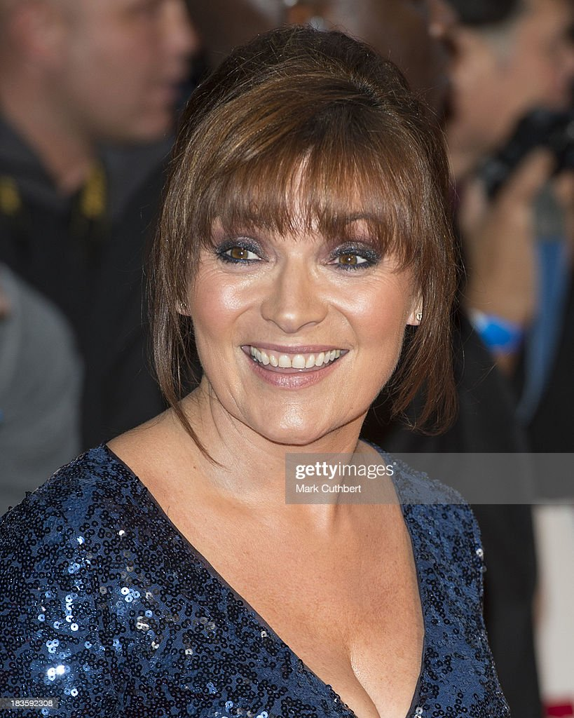 Lorraine Kelly attends the Pride of Britain awards at Grosvenor House, on October 7, 2013 in London, England.