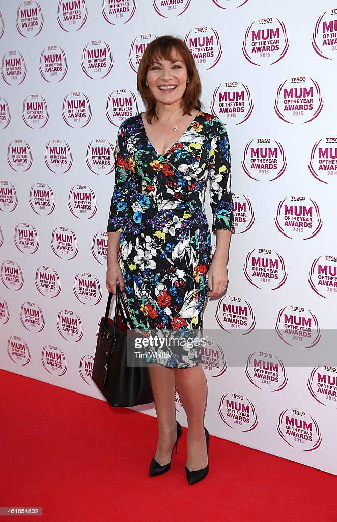 Lorraine Kelly attends the Tesco Mum of the Year Awards at The Savoy Hotel on March 1 2015 in London England