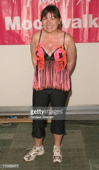 Lorraine Kelly during The Playtex Moonwalk 2005 at Hyde Park in London Great Britain