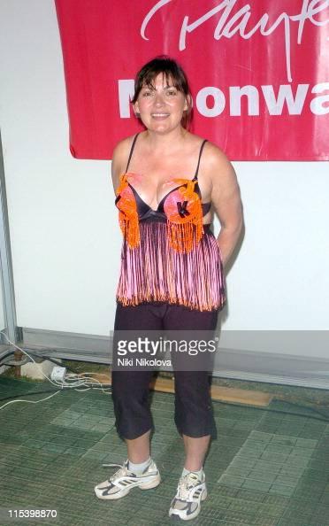 Lorraine Kelly during The Playtex Moonwalk at Hyde Park in London Great Britain