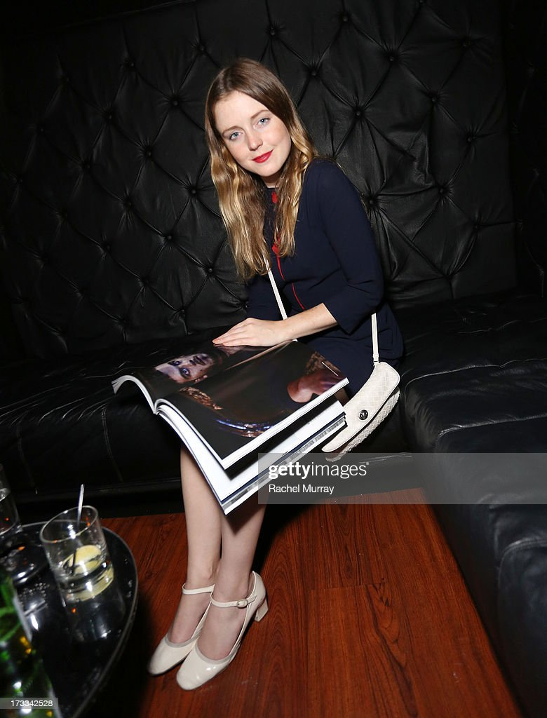 Lorraine Nicholson attends Flaunt Magazine and David Lynch celebrate the Shared Releases Of Context Issue and The Big Dream at an event powered by Dell at mmhmmm at The Standard, Hollywood on July 11, 2013 in Hollywood, California.