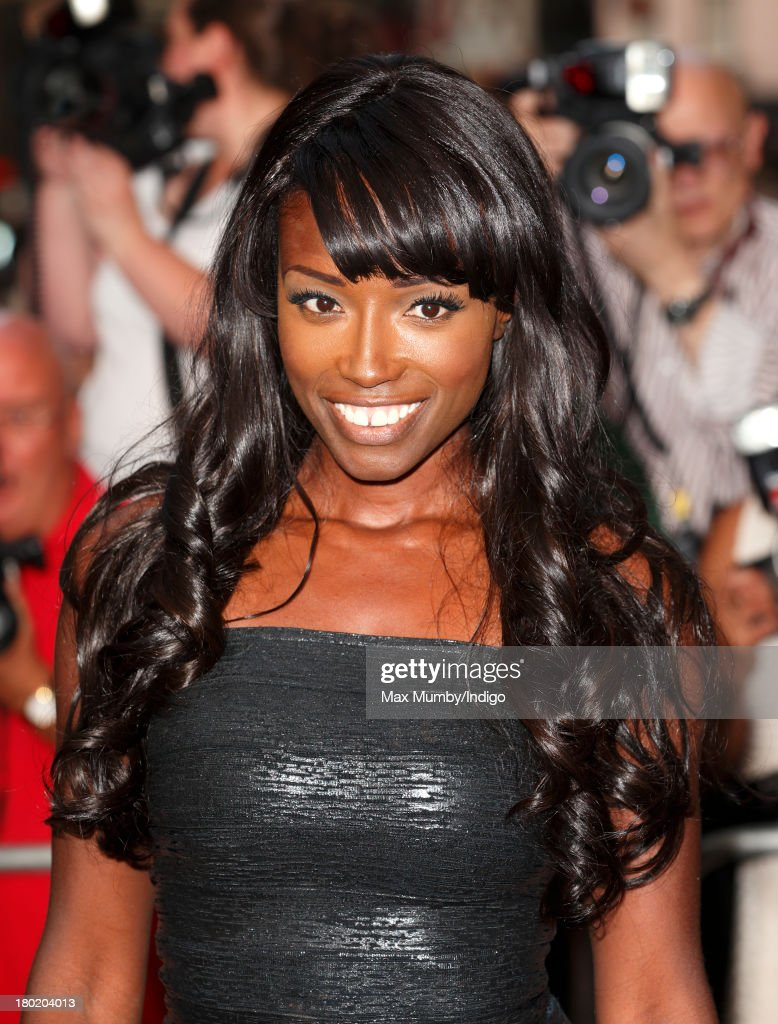 Lorraine Pascale attends the GQ Men of the Year awards at The Royal Opera House on September 3, 2013 in London, England.