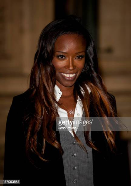 Lorraine Pascale attends the Princes' Trust Comedy Gala at Royal Albert Hall on November 28 2012 in London England