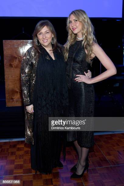 Lorraine Schwartz and Ofira Sandberg attend the Lung Transplant Project Gala with special guest Patti LaBelle at Guastavino's on October 2 2017 in...