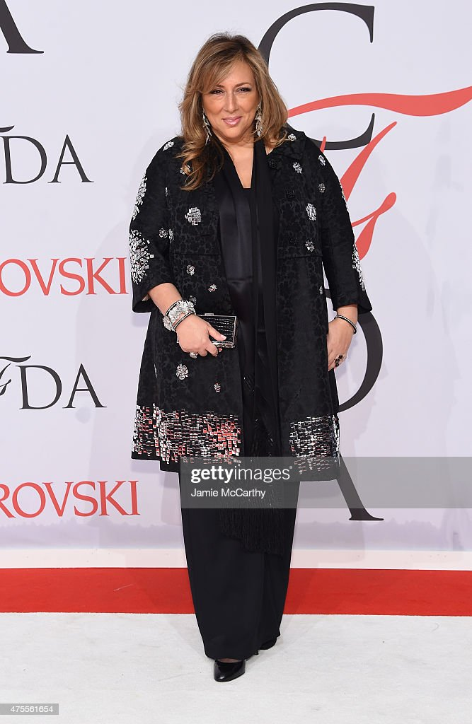 Lorraine Schwartz attends the 2015 CFDA Fashion Awards at Alice Tully Hall at Lincoln Center on June 1 2015 in New York City