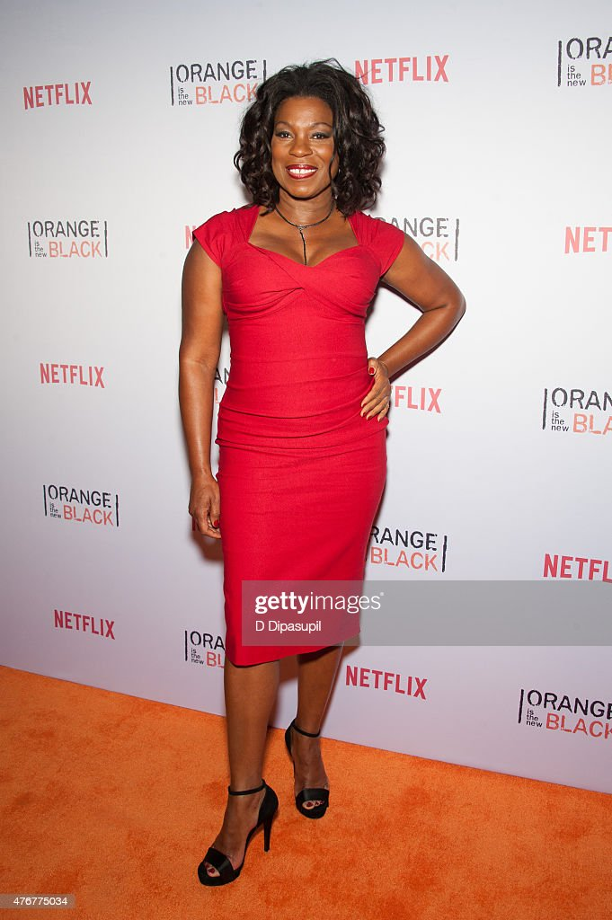 Lorraine Toussaint attends the 'Orangecon' Fan Event at Skylight Clarkson SQ. on June 11, 2015 in New York City.
