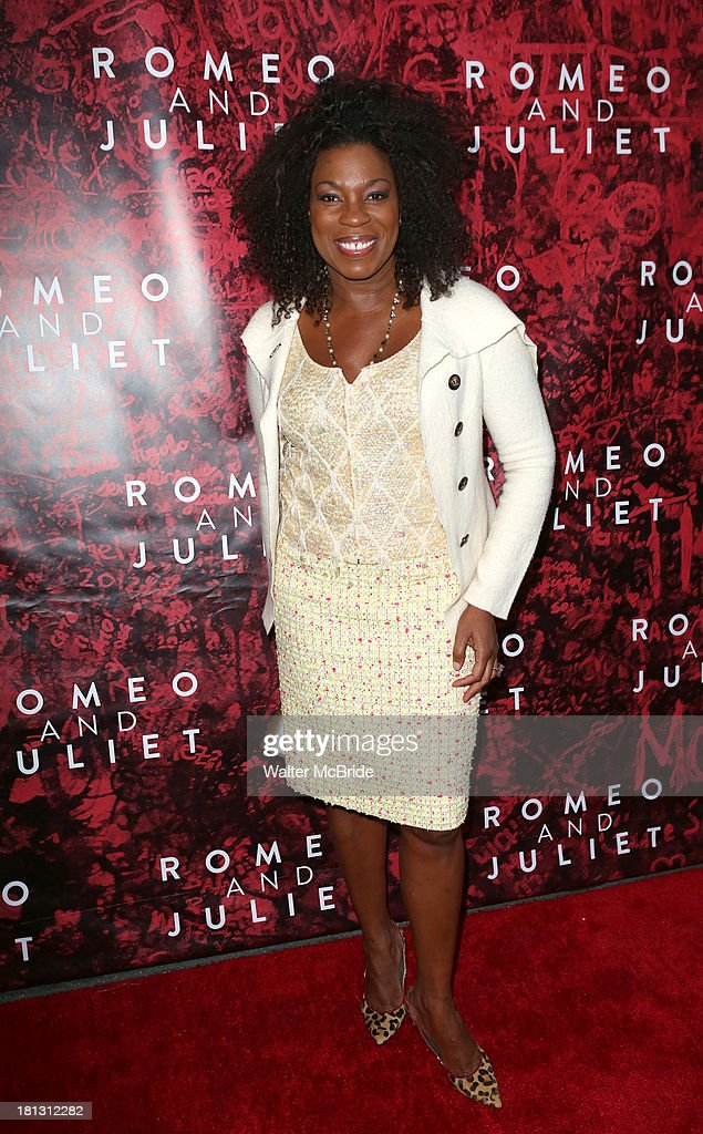 Lorraine Toussaint attends the 'Romeo And Juliet' Broadway Opening Night at Richard Rodgers Theatre on September 19, 2013 in New York City.