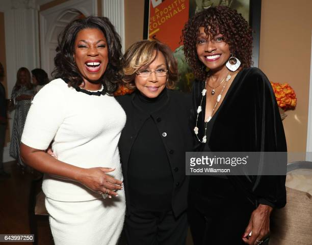 Lorraine Toussaint Diahann Carroll and Beverly Todd attend the 8th Annual Oscar's Sistahs Soiree Presented by Alfre Woodard and Farfetch at the...