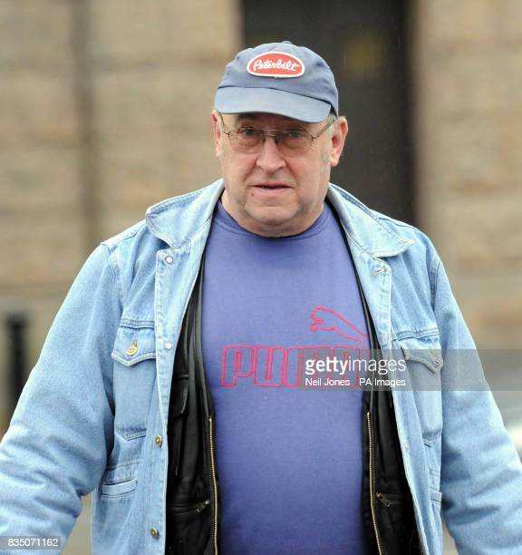 Lorry driver Thomas Woods leaving Chester Crown Court after the beginning of the trial against Portuguese lorry driver Paulo Jorge Nogueira da Silva...