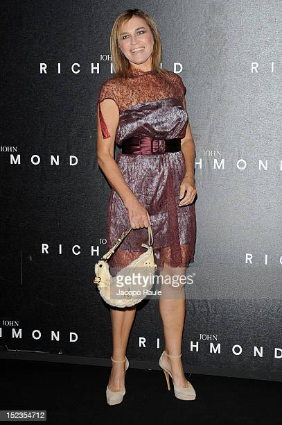 Lory del Santo attends the John Richmond Spring/Summer 2013 fashion show as part of Milan Womenswear Fashion Week on September 19 2012 in Milan Italy