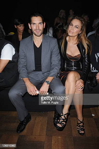 Lory Del Santo attends the Philipp Plein Urban Jungle Spring/Summer 2012 fashion show as part Milan Womenswear Fashion Week on September 24 2011 in...