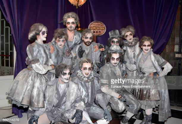 Los ancestros attends 'La Familia Addams' Madrid premiere on October 10 2017 in Madrid Spain