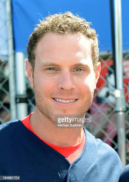 Los Angeles Angels of Anaheim Josh Hamilton attends the Head and Shoulders first ever 'WhiffAThon' event to launch the Season of the Whiff campaign...