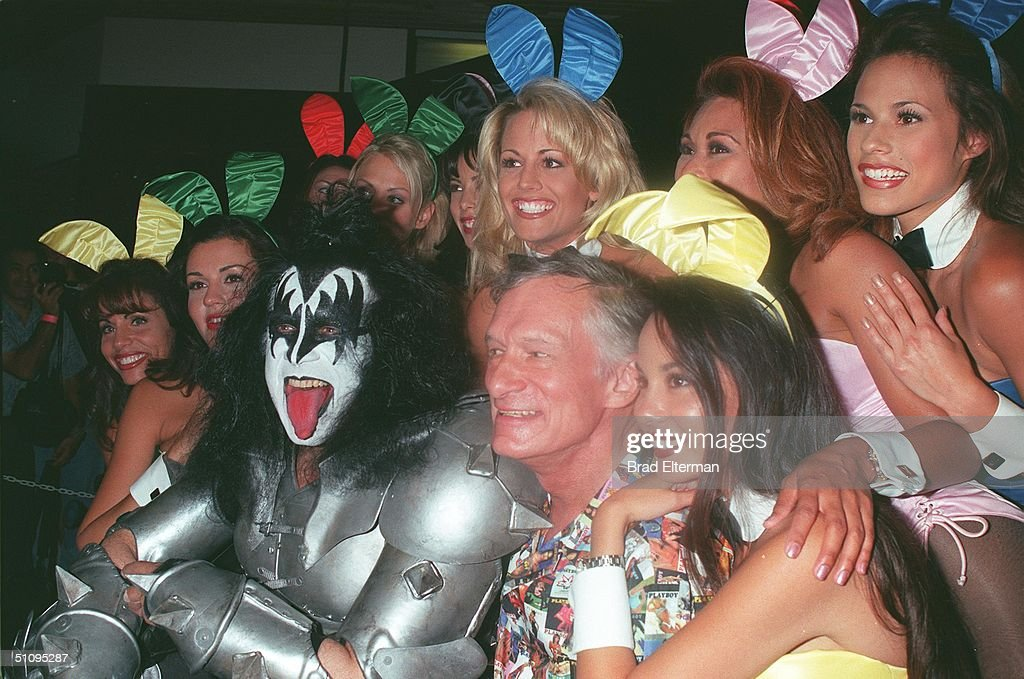 Image result for gene simmons hugh hefner