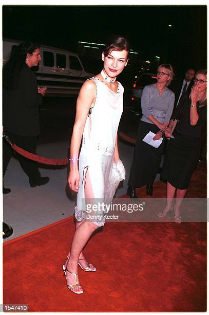 Los Angeles CA Milla Jovovich at the premiere of 'The Messanger The Story of Joan of Arc' Photo David Keeler/Online USA Inc
