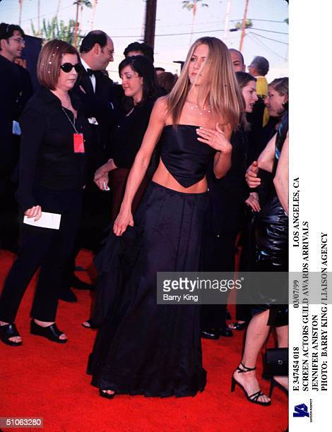 Los Angeles Ca Screen Actors Guild Awards Arrivals Jennifer Aniston