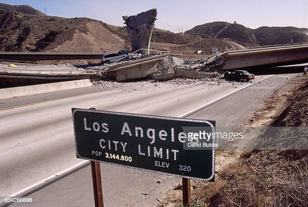 Los Angeles California Earthquake Aftermath