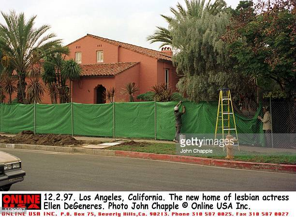 12297 Los Angeles California The new home of lesbian actress Ellen DeGeneres
