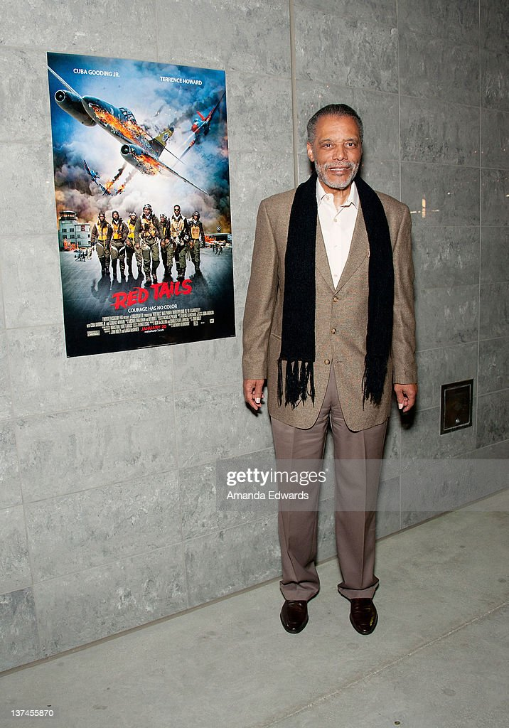 Los Angeles City Council member Bernard Parks attends the 'Red Tails' VIP opening night screening at Rave Baldwin Hills 15 Theatres on January 20...